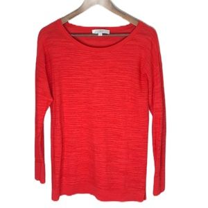 Loft Red Lightweight Sweater